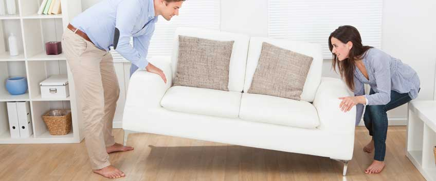 How to prevent scratches and damages when moving out