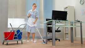 Efficient office and commercial cleaning